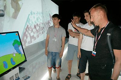 history 2014, обучение и развитие ребенка, Interactive sandbox, Augmented reality sandbox